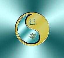 Snake Yin Metal by astrodesigner75