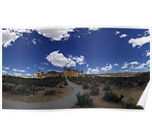 Grosvenor Arch, Utah Poster