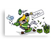 JUST ONE MORE RUPEE~! Canvas Print