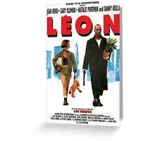 Leon Greeting Card