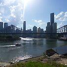 Brisbane Summer Afternoon by katkeldeen