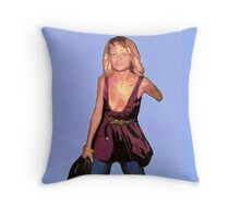 I'd give my left arm to be part of the cultural elite. (Nicole Richie) Throw Pillow
