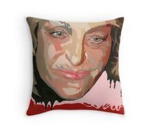 My identity hangs on my association with your collective threads. (Farrah Fawcett) Throw Pillow
