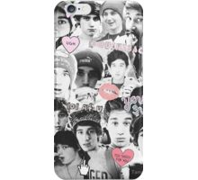 LUKE BEAU BROOKS COLLAGE FAN ART JANOSKIANS iPhone Case/Skin