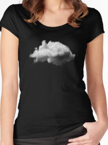 WAITING MAGRITTE Women's Fitted Scoop T-Shirt