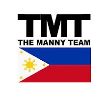 TMT The Manny Team - Pacquiao Fan Shirt Photographic Print