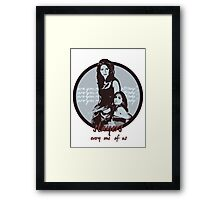 Are you ready to be strong? Framed Print