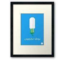 Zucchini Ice Cream Framed Print