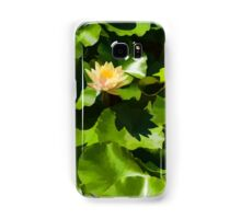 Light, Shadow and Color - Waterlily Pad Impression Samsung Galaxy Case/Skin