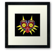 Majora's Mask (flat) Framed Print