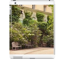 Litterary afternoon iPad Case/Skin