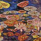 Waterlilies VI by Alexandra Felgate