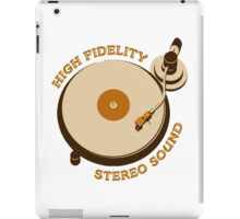 'High Fidelity' iPad Case/Skin
