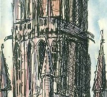 Cathedral Spire by Peter Neish