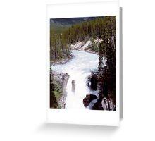 The Great Athabaska River..... British Columbia Canada Greeting Card