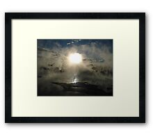 Beauty in the Strangest of Places Framed Print