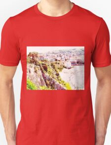 Agropoli: landscape with beach Unisex T-Shirt
