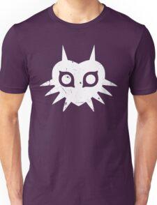 Majora's Mask (Grunge, white) Unisex T-Shirt