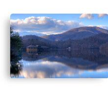 View from Lake Tahoma Canvas Print