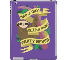 Wise Sloth iPad Case/Skin