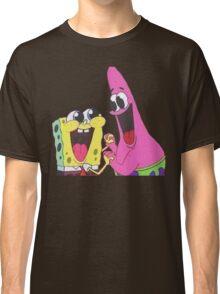 Sponge bob and Patrick happy as ever Classic T-Shirt