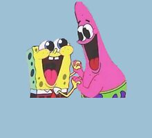 Sponge bob and Patrick happy as ever Unisex T-Shirt