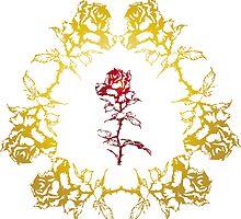 Roses Intertwined by BorisBurakov