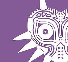 Majora's Mask (Tattoo, white) by hopperograss