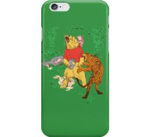 Winnie the Pooh bear gone crazy iPhone Case/Skin