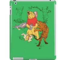 Winnie the Pooh bear gone crazy iPad Case/Skin