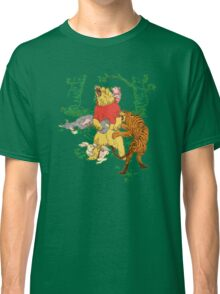 Winnie the Pooh bear gone crazy Classic T-Shirt