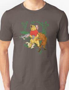 Winnie the Pooh bear gone crazy Unisex T-Shirt