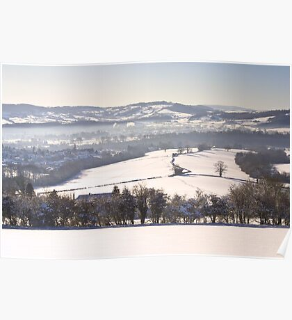 A Good Place for Sledging Poster