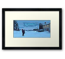 Closing The Loop Framed Print