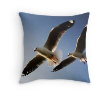 Look outs Throw Pillow