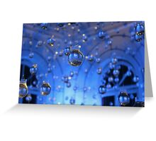 Water-bulbs Greeting Card