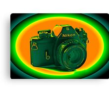 Nikon EM SLR Camera Canvas Print