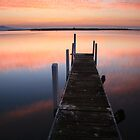 A new day dawns, Mallacoota, Australia by Michael Boniwell