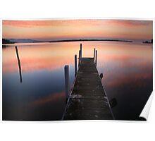 A new day dawns, Mallacoota, Australia Poster
