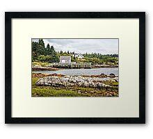 Bush Island Framed Print