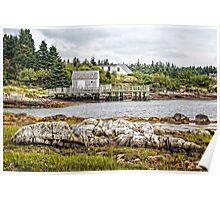Bush Island Poster