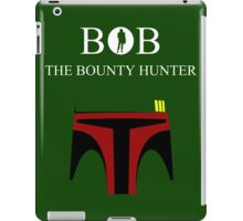 BOB The Bounty Hunter iPad Case/Skin