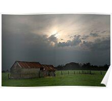 Rural Scene, Warrnambool, Australia, Landscape Poster