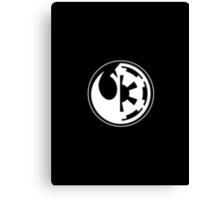 Star Wars - Rebel Alliance/Galactic Empire Canvas Print