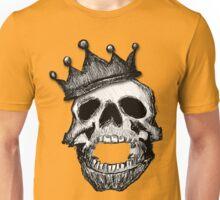 Crown Skull Tee (no shadow) Unisex T-Shirt