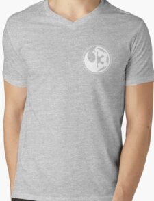 Star Wars - Rebel Alliance/Galactic Empire Mens V-Neck T-Shirt