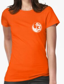 Star Wars - Rebel Alliance/Galactic Empire Womens Fitted T-Shirt