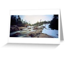 Quarry Brook,Conception Bay South Greeting Card