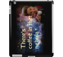 There is coffee in that nebula - Kathryn janeway Star Trek Voyager iPad Case/Skin