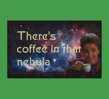 There is coffee in that nebula - Kathryn janeway Star Trek Voyager Baby Tee